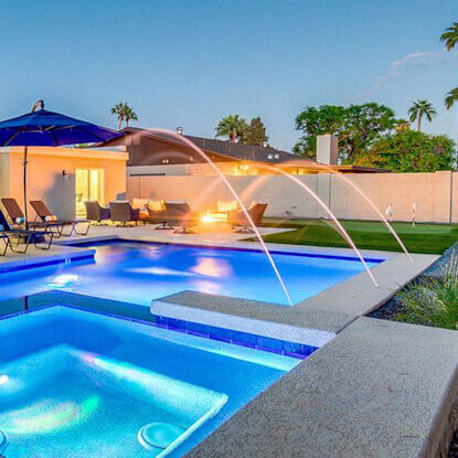 1 pool builder arizona dolphin pools looking for a for Pool builders in az